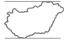 mapa Maďarsko